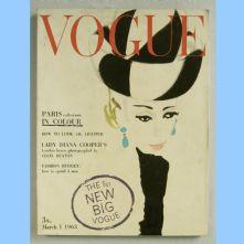 Vogue Magazine - 1963 - March 1st